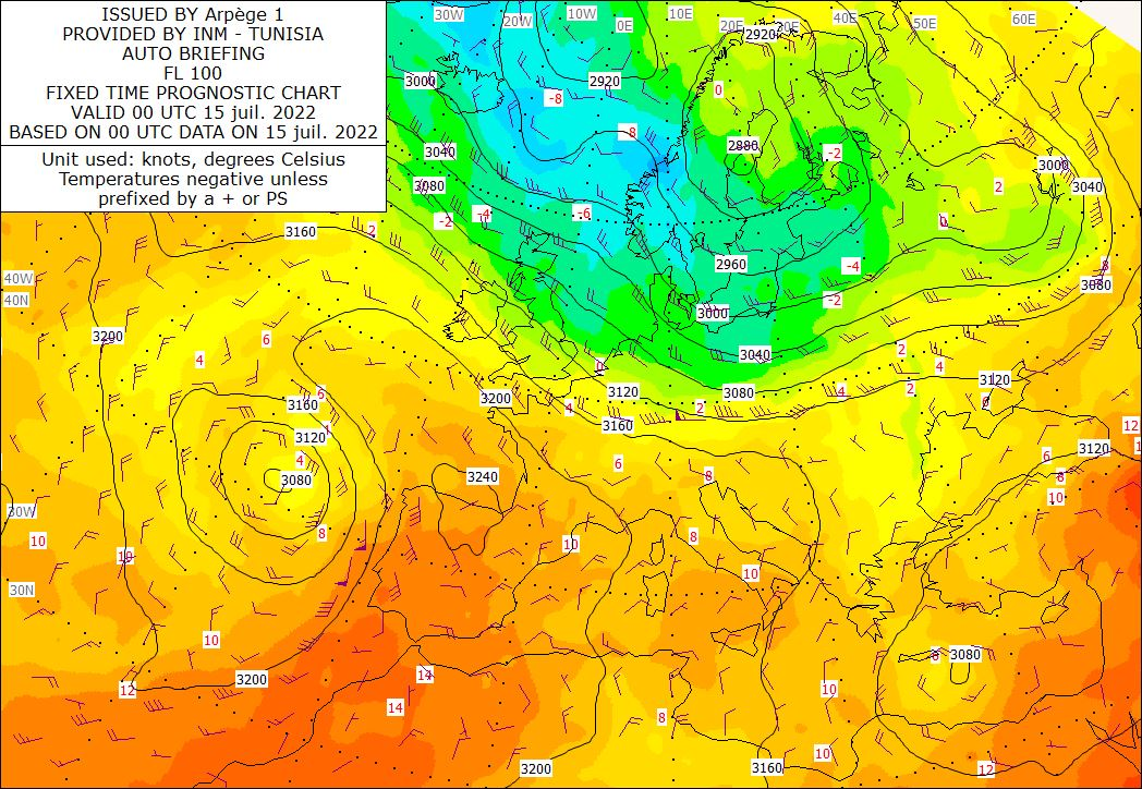 Analyse-Carte 700 hPa