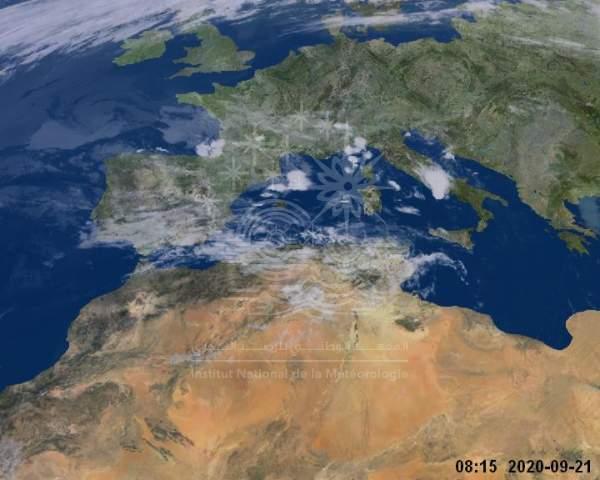 Map satelilte